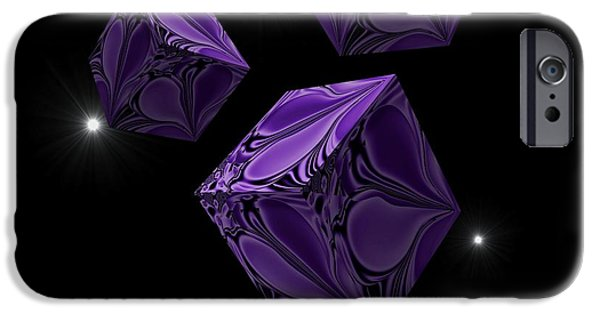 By Barbara St Jean iPhone Cases - With the Lightest Touch iPhone Case by Barbara St Jean