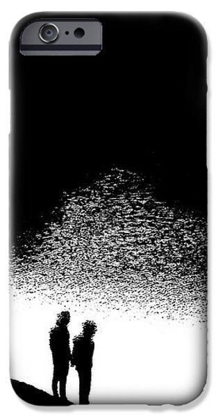 Without iPhone Case by Nick David