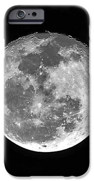 Wolf Moon Waning iPhone Case by Al Powell Photography USA