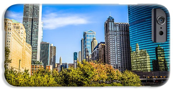 Wolf Photo iPhone Cases - Wolf Point in Chicago iPhone Case by Paul Velgos