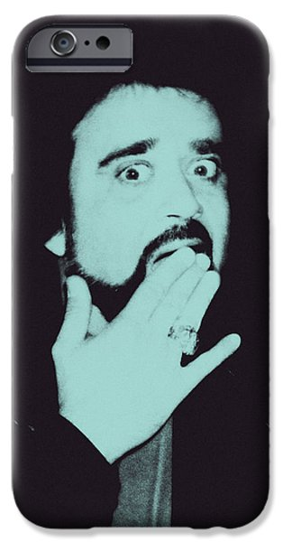 Wolfman Jack iPhone Case by Bob Orsillo
