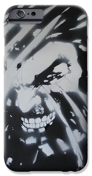 Xmen iPhone Cases - Wolverine  iPhone Case by Barry Boom