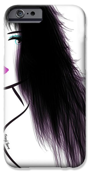 Woman 5 iPhone Case by Cheryl Young