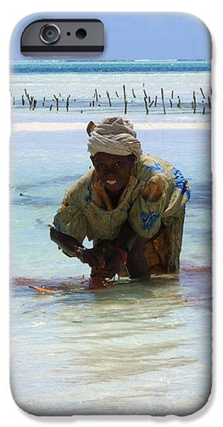 Women Of The Sea iPhone Case by Aidan Moran