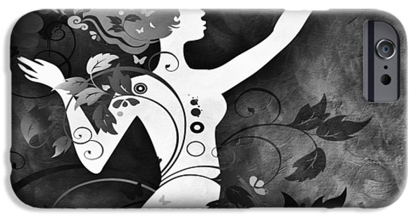 Figure iPhone Cases - Wonderful BW iPhone Case by Angelina Vick