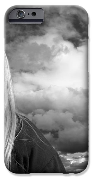 Wondering About Tomorrow iPhone Case by Glenn McCarthy Art and Photography