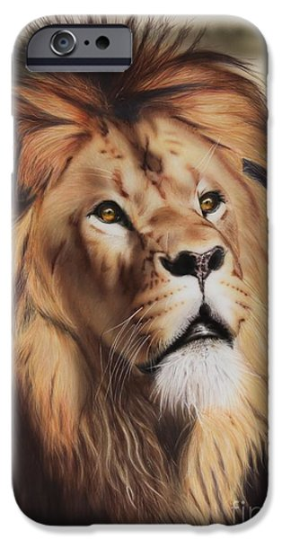 Airbrush iPhone Cases - Wondering iPhone Case by Jackie Mestrom