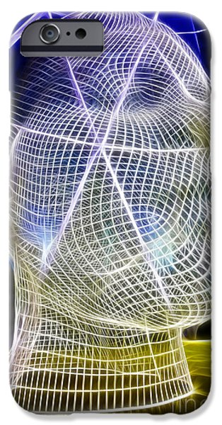 Fractals Fractal Digital Art iPhone Cases - Wonderland 4 iPhone Case by Bob Christopher
