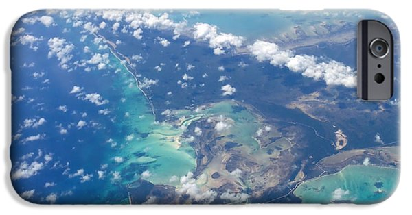 Caribbean Island iPhone Cases - Wonders From Above iPhone Case by Laurie Search