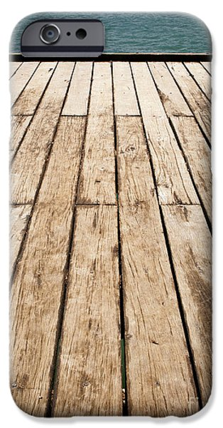 Fleurieu Peninsula iPhone Cases - Wood and Water iPhone Case by Tim Hester