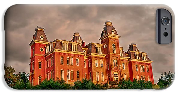 Recently Sold -  - Storm iPhone Cases - Woodburn Hall after the storm iPhone Case by Dusty Phillips