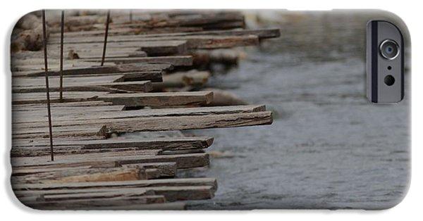 Makeshift iPhone Cases - Wooden Bridge  iPhone Case by Ramabhadran Thirupattur