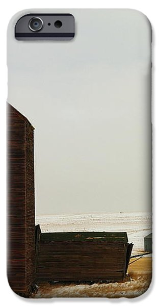 WOODEN SILO iPhone Case by Jeff  Swan