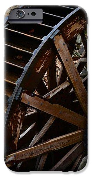 Wooden Water Wheel iPhone Case by Paul Ward