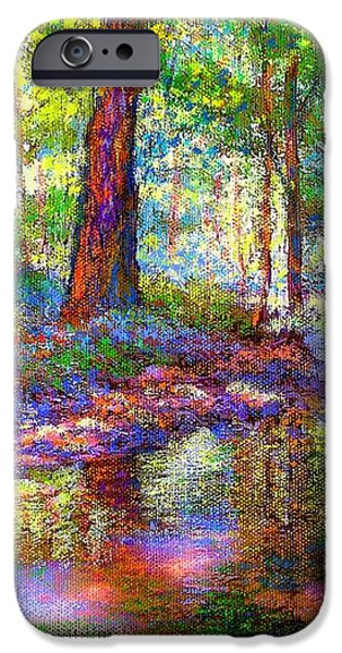 Woodland Rapture iPhone Case by Jane Small