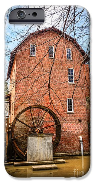 Wood's Grist Mill in Northwest Indiana iPhone Case by Paul Velgos