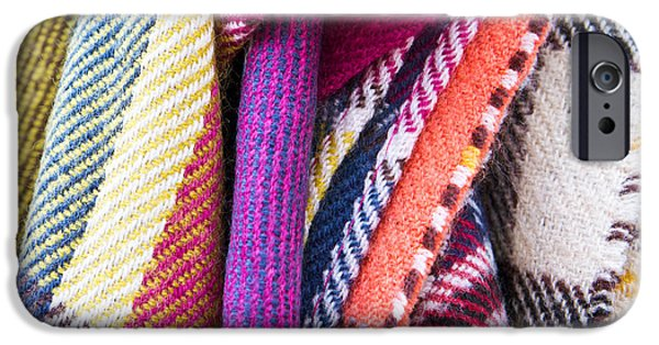 Accessories iPhone Cases - Wool blankets iPhone Case by Tom Gowanlock