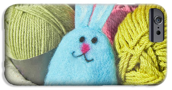 Puppets iPhone Cases - Wool craft iPhone Case by Tom Gowanlock