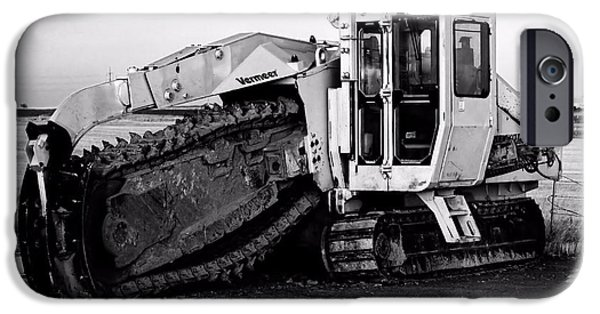Recently Sold -  - Machinery iPhone Cases - Working Hard iPhone Case by Jenny Hudson