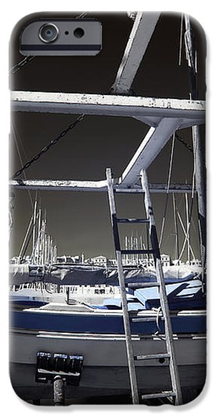 Working on the Boat iPhone Case by John Rizzuto