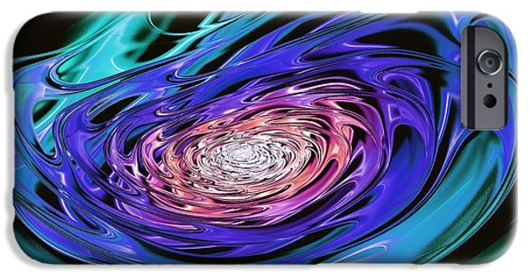 Metal iPhone Cases - World In His Hands iPhone Case by Anastasiya Malakhova