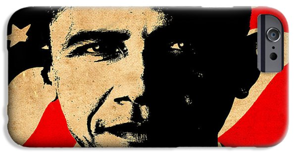 Barack Obama iPhone Cases - World Leaders 1 iPhone Case by Andrew Fare