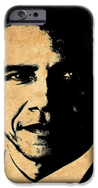 World Leaders 1 iPhone Case by Andrew Fare
