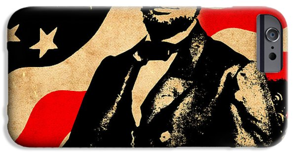 Lincoln iPhone Cases - World Leaders 4 iPhone Case by Andrew Fare