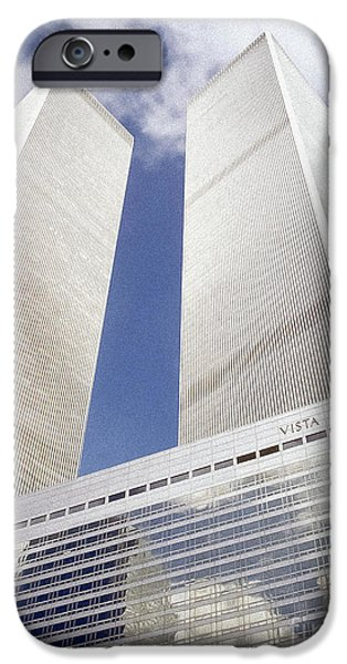 Etc. Photographs iPhone Cases - World Trade Center iPhone Case by Chuck Spang