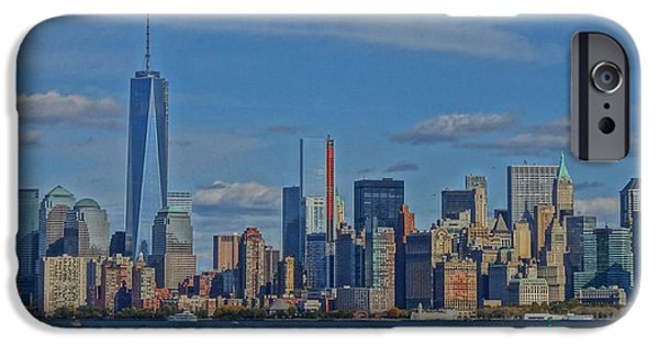 Twin Towers Nyc iPhone Cases - World Trade Center Painting iPhone Case by Dan Sproul
