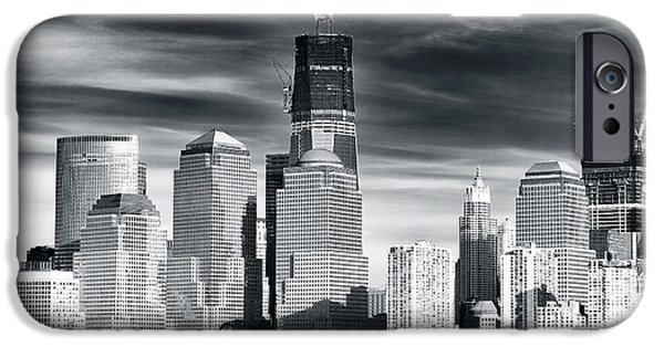 Freedom iPhone Cases - World Trade Center Rebirth iPhone Case by John Rizzuto