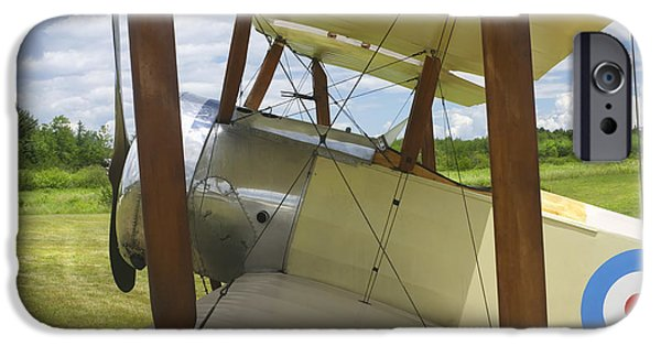 World War One Photographs iPhone Cases - World War One Classic 1916 Sopwith Pup Biplane iPhone Case by Keith Webber Jr