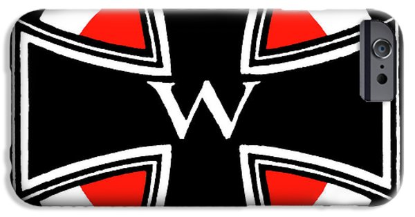 World War One Paintings iPhone Cases - World War One Iron Cross iPhone Case by Historic Image