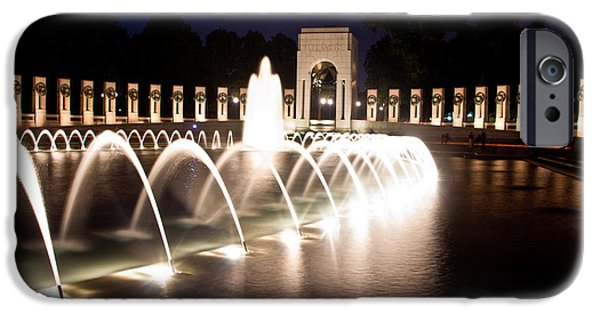 D.c. iPhone Cases - World War Two Memorial iPhone Case by John McGraw