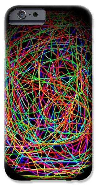 World Web iPhone Case by Aidan Moran