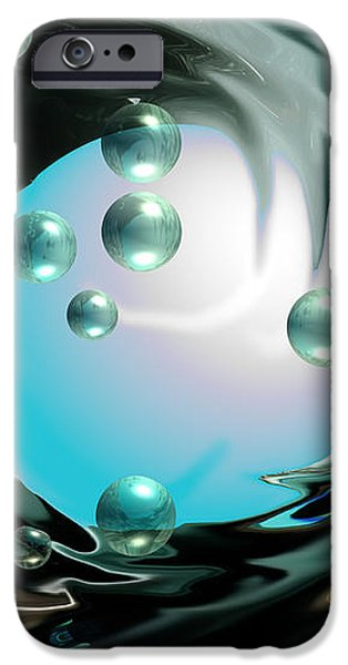 Worlds Apart iPhone Case by Cheryl Young