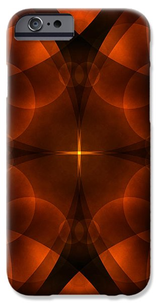 Worlds Collide 16 iPhone Case by Mike McGlothlen