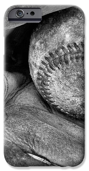 Worn In BW iPhone Case by JC Findley