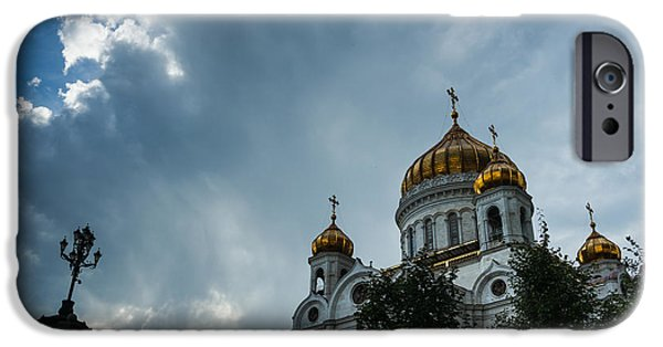 Russian Cross iPhone Cases - Worship - Featured 3 iPhone Case by Alexander Senin