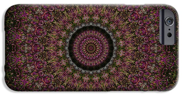 R. Mclellan Photography iPhone Cases - Woven Kaleidoscope iPhone Case by R McLellan