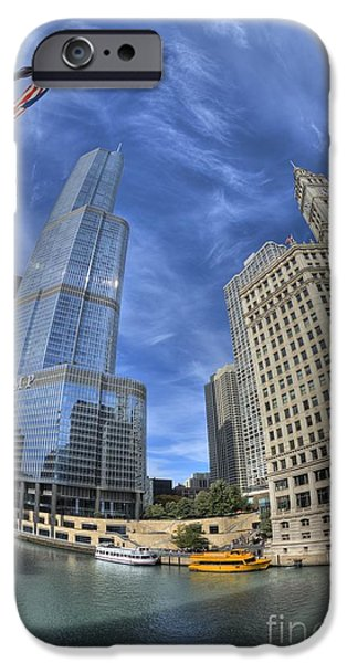 Wrigley iPhone Cases - Wrigley and the Trumper iPhone Case by David Bearden