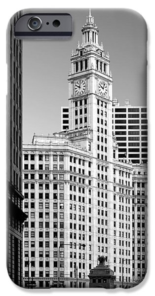 Interior Scene iPhone Cases - Wrigley Building - a Chicago original iPhone Case by Christine Till