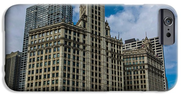 French Open iPhone Cases - Wrigley Building iPhone Case by Randy Scherkenbach
