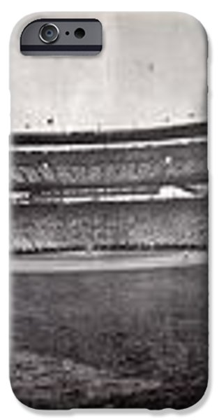 Wrigley Field 1929 Panorama iPhone Case by Benjamin Yeager