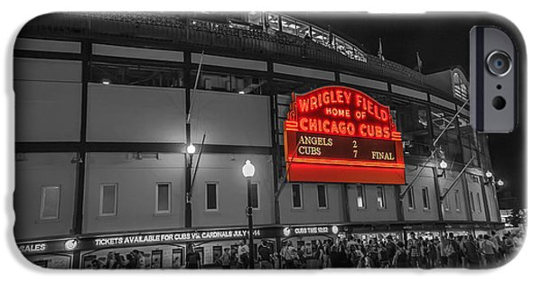 Wrigley iPhone Cases - Wrigley iPhone Case by Kevin Martin