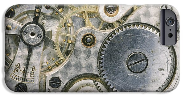 Mechanism iPhone Cases - Wrist Watch iPhone Case by Gregory G. Dimijian, M.D.