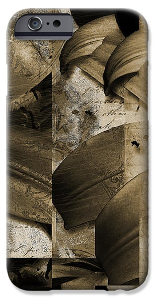 Written III iPhone Case by Yanni Theodorou