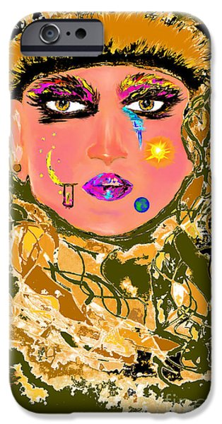 Face Recognition iPhone Cases - Written iPhone Case by Lori  Lovetere