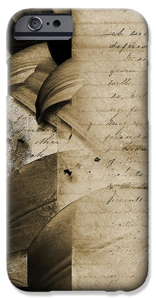 Written iPhone Case by Yanni Theodorou