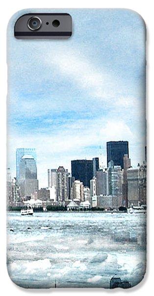 Wrong Expectations New York City USA iPhone Case by Sabine Jacobs